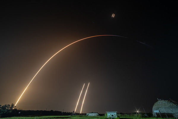 STP-2 Falcon Heavy by SpaceX