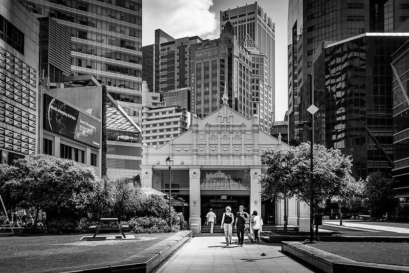 Underground station Raffles Place