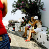 It seems that in the community of oia, Island of Santorini, Greece, there are more women tourists than men.