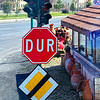"""The sign that says """"Stop"""" in Turkey. This street sign is in Goreme, Turkey."""