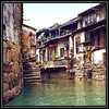 Suzhou, China has an old historic city with no streets but canals. It is sometimes called the Venice of the East.