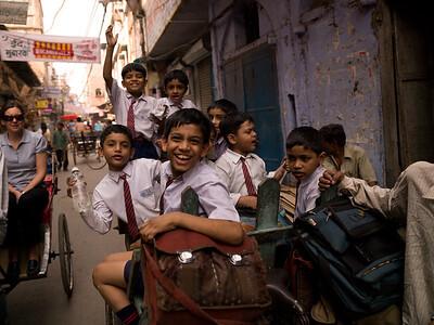 Life in Delhi, India