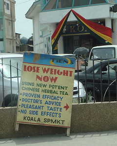 Even in Africa - People want to lose weight.