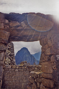 Machupichu - Near the Temple of the Sun