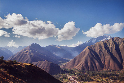 The beauty and strength of the Andes !
