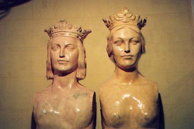 """Female statues"""