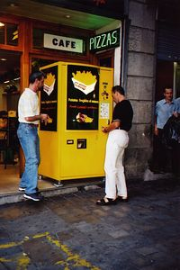 French Fry Vending Machine -  Spain