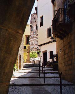 Street in Spain  - Calle en Espana