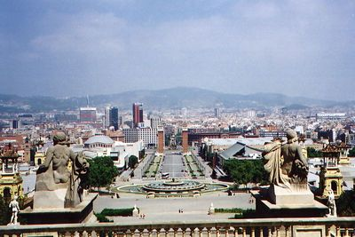 """""""Scape of Barcelona, Spain"""""""