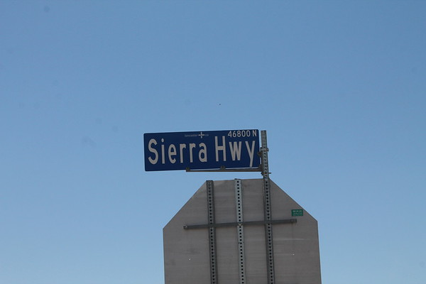 SIERRA HWY AND AVE G(EAST OF 14)