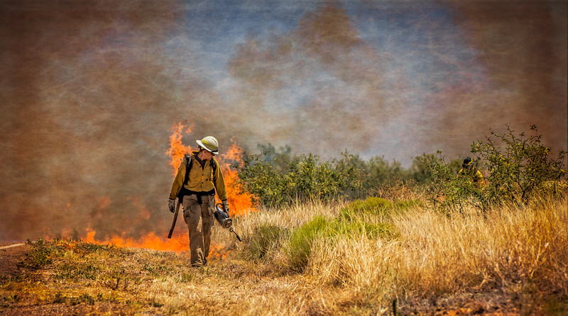 Buenas Aires National Wildlife Refuge Burn 2016
