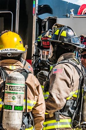 Davis Monthan AFB Fire Department Live Fire Training
