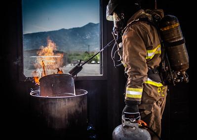 Golder Ranch Fire Live Fire