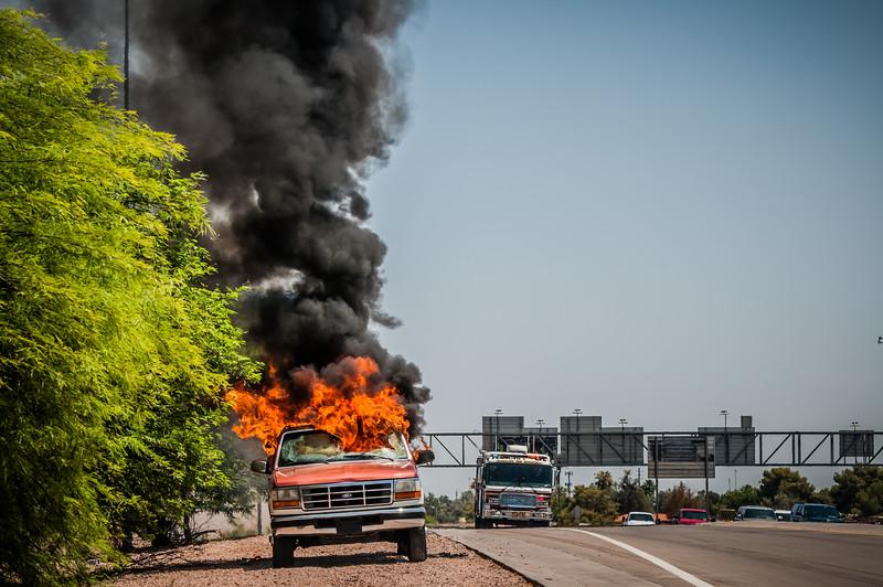 Guadalupe Fire Car Fire-1095
