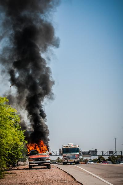 Guadalupe Fire Car Fire-1103