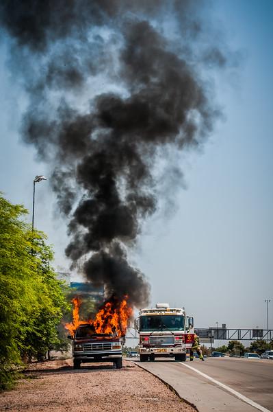 Guadalupe Fire Car Fire-1113