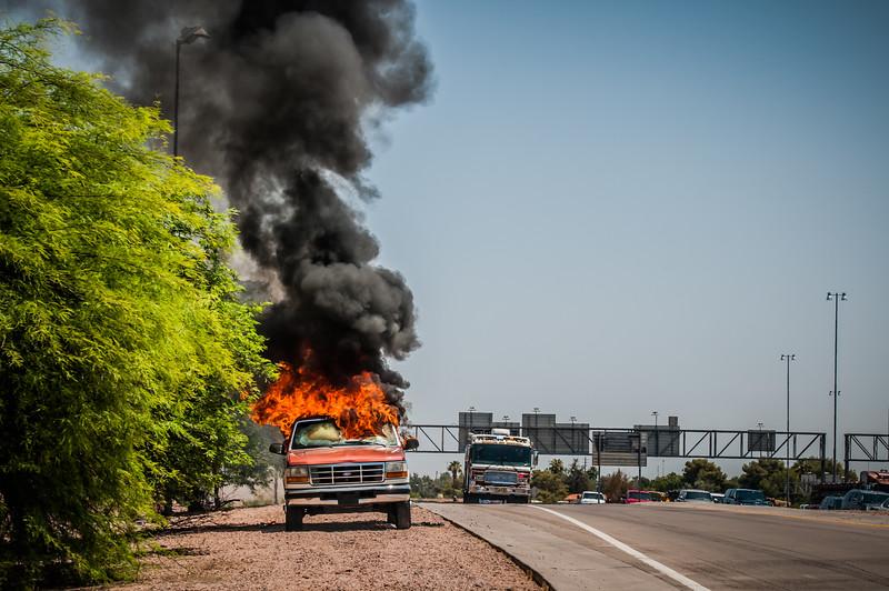 Guadalupe Fire Car Fire-1097