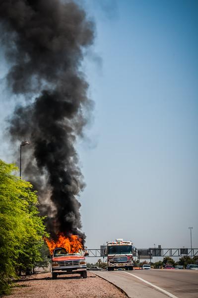 Guadalupe Fire Car Fire-1101