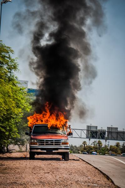 Guadalupe Fire Car Fire-1085