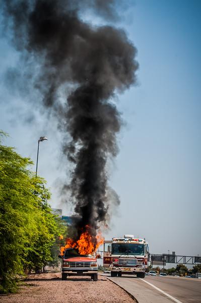 Guadalupe Fire Car Fire-1106