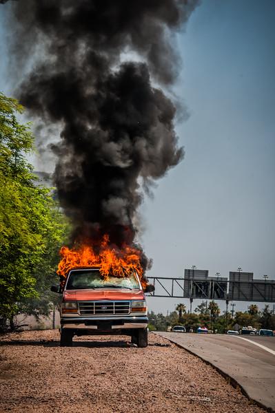 Guadalupe Fire Car Fire-1088