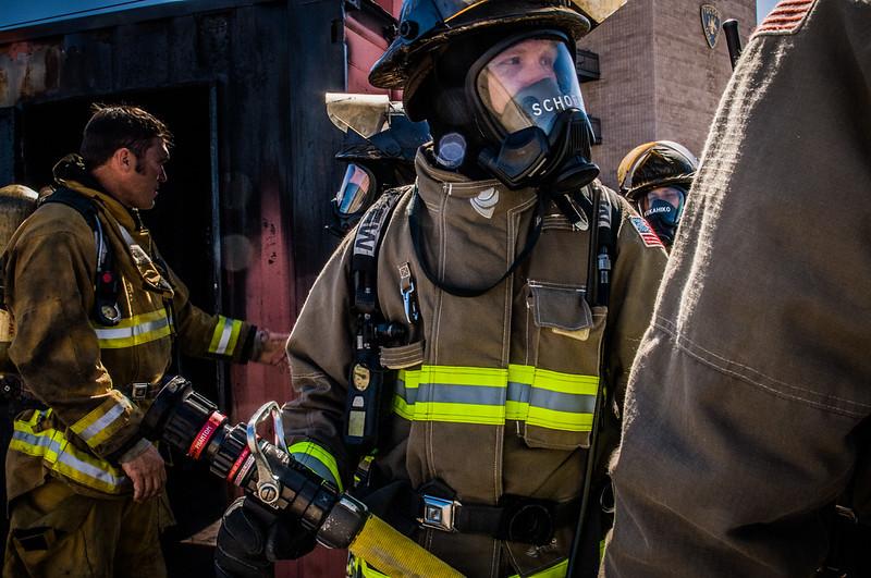 MVFD Live Fire A Shift 1633