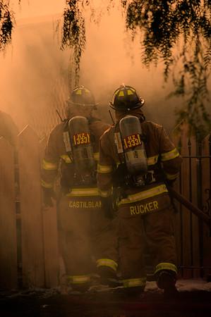 NWFD 16th Street Trailer Fire