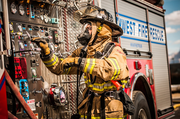 NWFD Live Fire Training 2.7.14