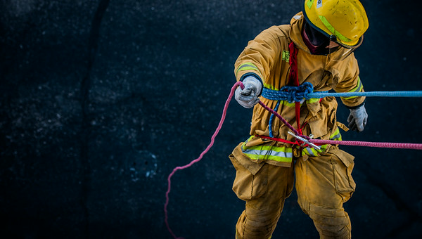 TFD 2014 Academy Ropes and Confined Space