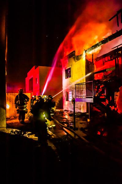 TFD 22nd St Fire-4010