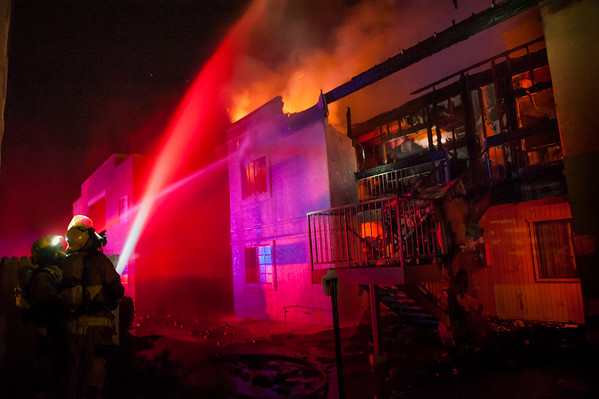 TFD 29th Street Apartment Fire