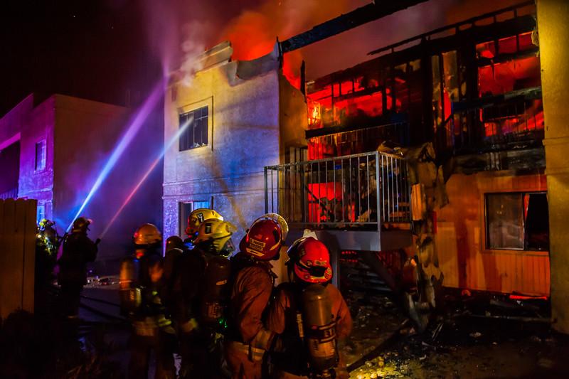 TFD 22nd St Fire-4038