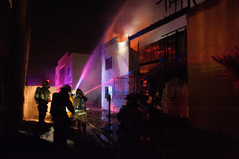 TFD 22nd St Fire-4005