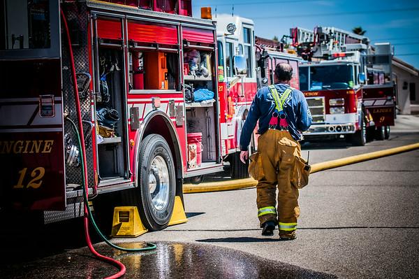 TFD Bridget Avenue Fire
