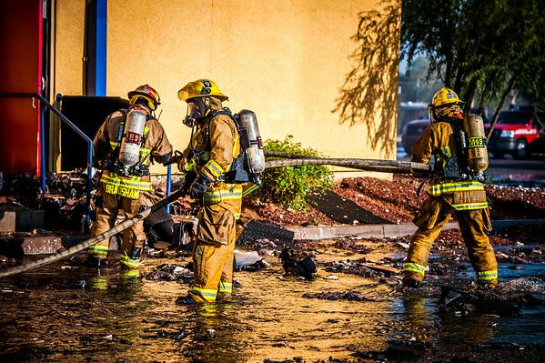 TFD Guadalajara Grill Fire