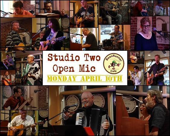 Studio Two Open Mic - April 10, 2017