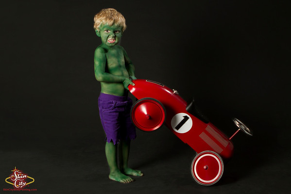Leo as The Hulk
