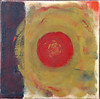 "2005  10""x10""  encaustic on canvas"