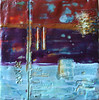 "2007 5""x 5"" encaustic on board"