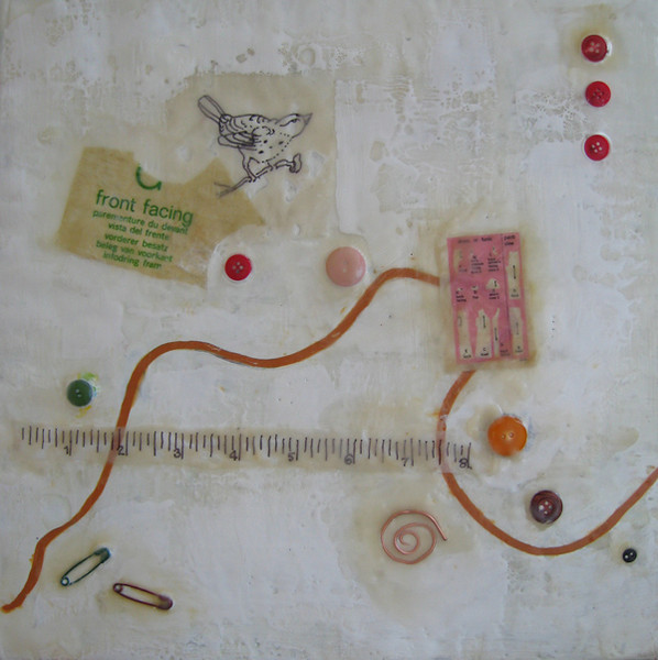 "2008 12""x 12"" encaustic on board <br><b>(rr)</b>"