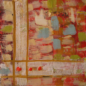 "2007 6""x 6"" encaustic on board"