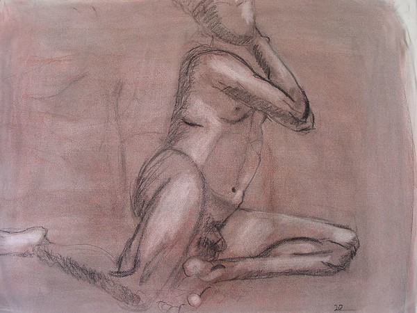 2002 charcoal on paper