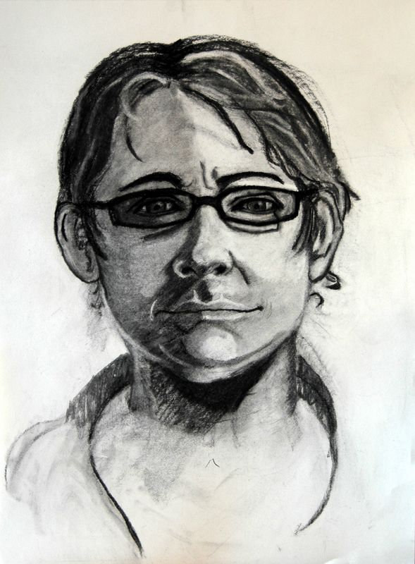 2005<br /> charcoal on paper