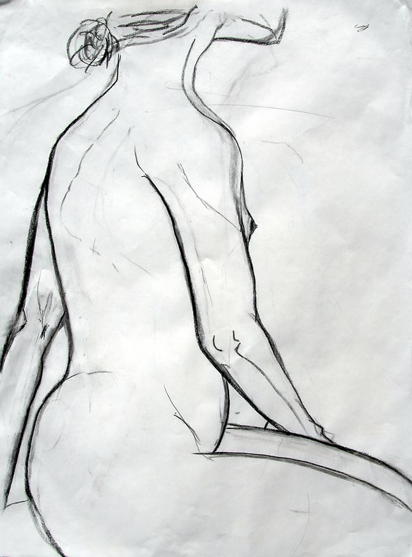 charcoal on paper  2003