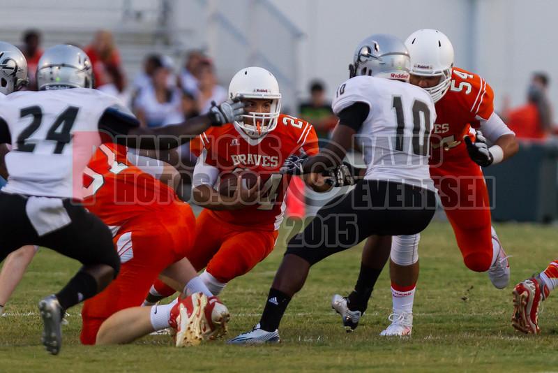 Olympia Titans @ Boone Braves Varsity Football 2014 DCEIMG-0244