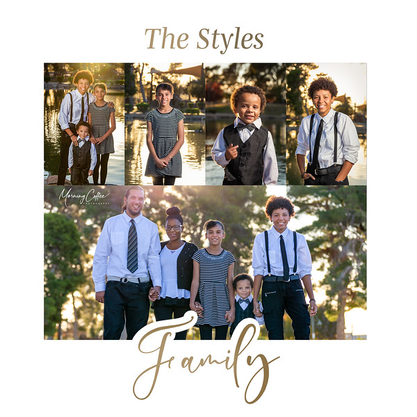 Styles Family Collage-20x20