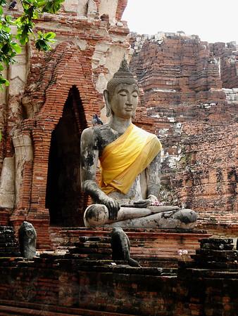 Buddha Statue in Ayutthaya