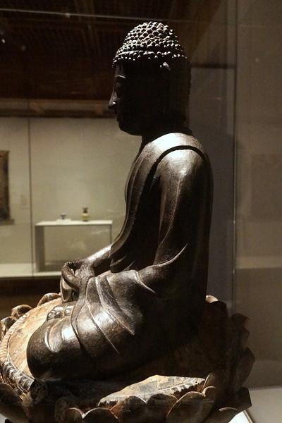 Seated Image of Amida Buddha