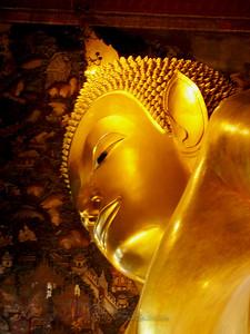 Gold Buddha's Face