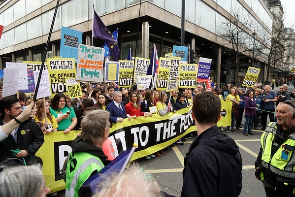 Peoples Vote March 23rd March 2019, London